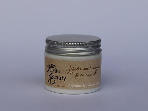 Jojoba & Argan Face Cream