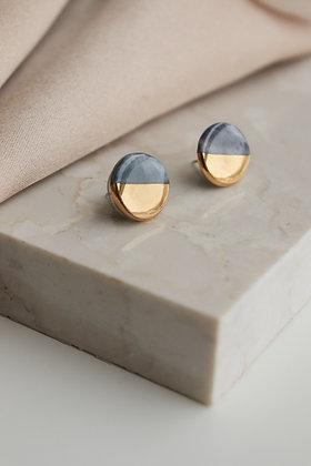 Grey earrings S