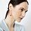 Thumbnail: Pink porcelain earrings