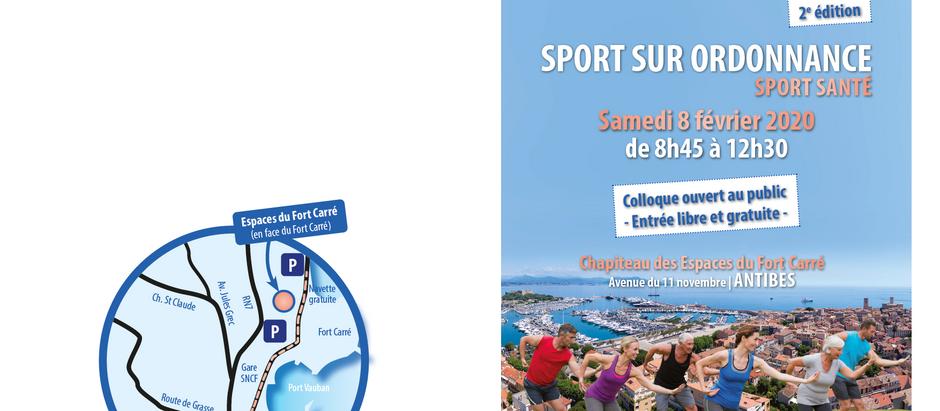 Colloque Sport sur Ordonnance
