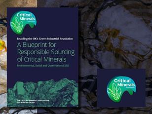Contributing to Critical Mineral Association's Environmental, Social, Governance ESG Paper
