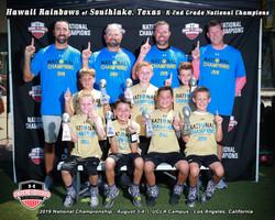 K-2nd Grade National Champions
