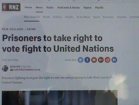 The Right to Vote goes to the United Nations