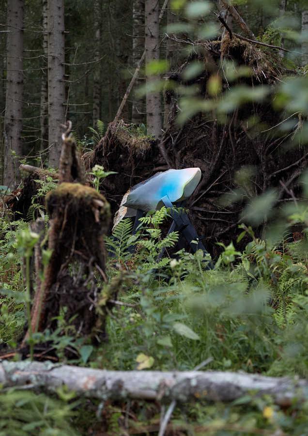 """KATE KROLLE UN REINIS BERZIŅŠ Koka skulptūra """"Atgriešanās"""" 2020"""