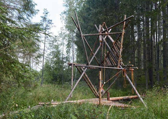 """JĀNIS NOVIKS Instalācija """"Industrija Bebrs 17"""" 2020"""