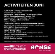 Activiteiten juni