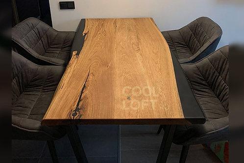 Дизайнерский стол из массива в стиле Loft