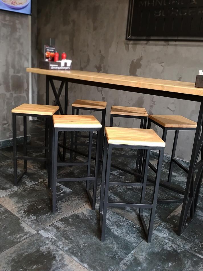 Мебель для бара в стиле Лофт