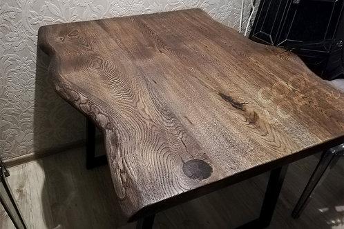 Кухонный стол Венге с живым краем