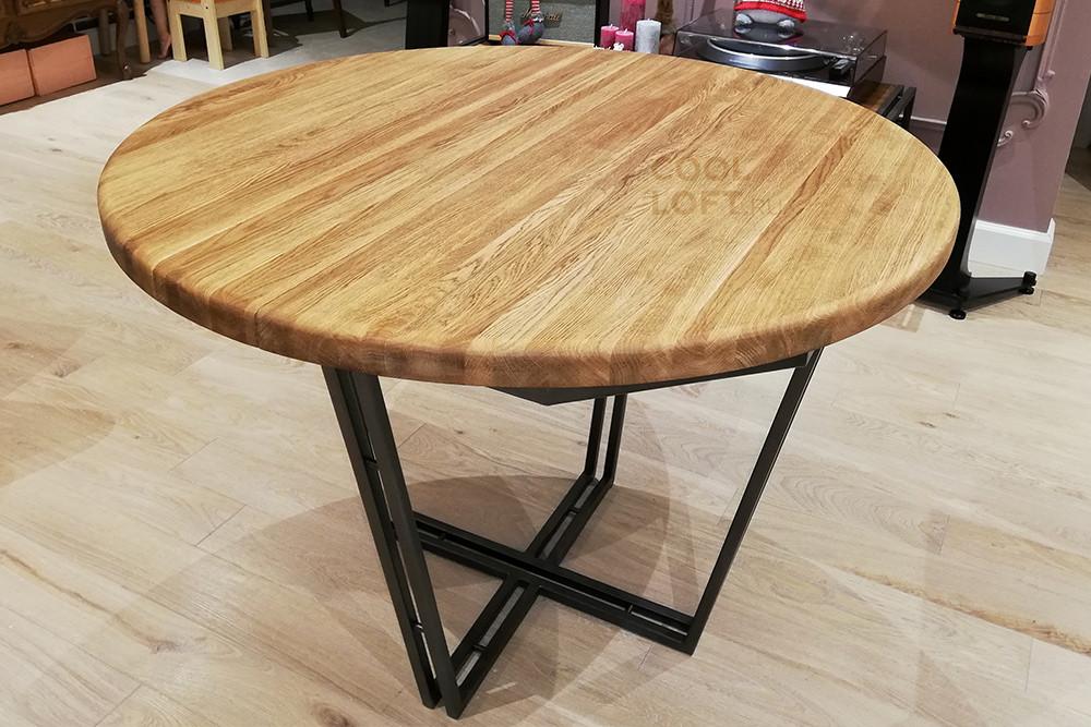 Раскладной стол из массива