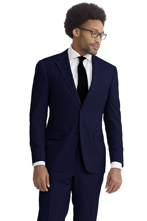 Royal Blue Herringbone Suit