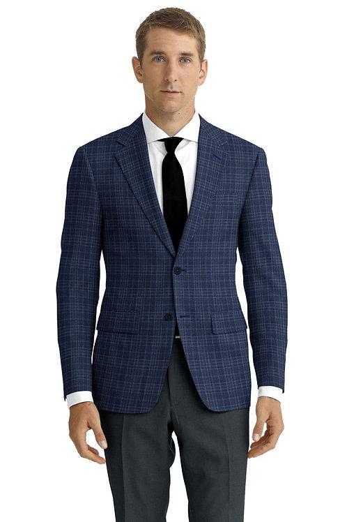 Blue Plaid Sport Coat