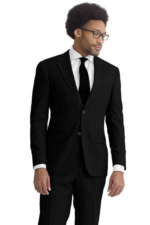 Charcoal Chalstripe Suit