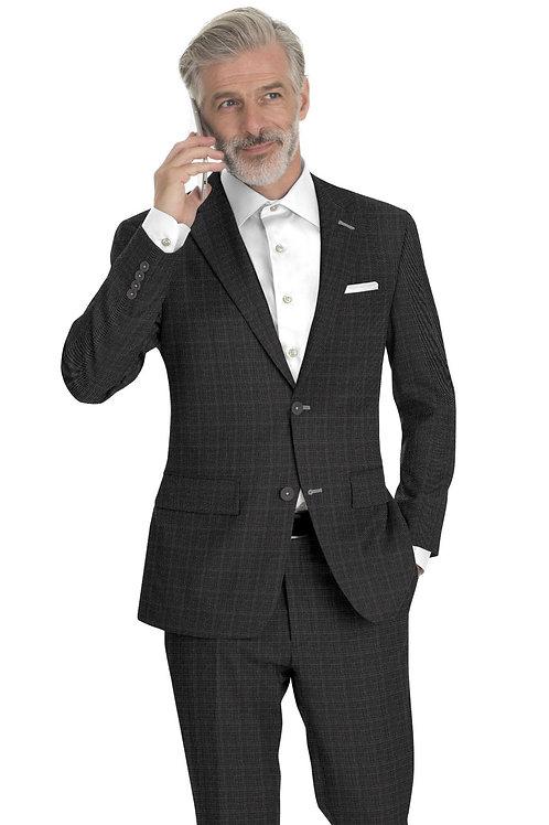 Grey Sharkskin Suit