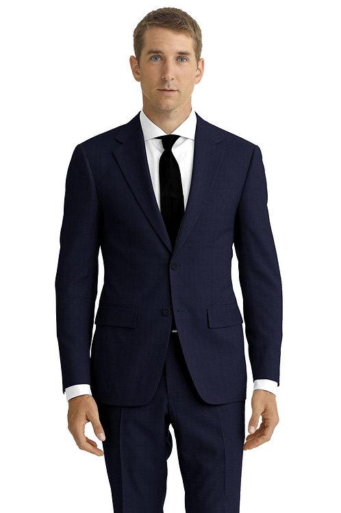 Navy Sharskin Suit