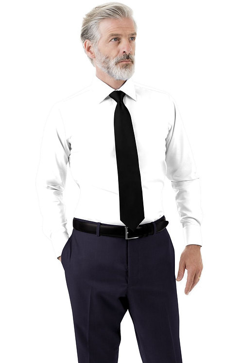 Navy Solid Trouser