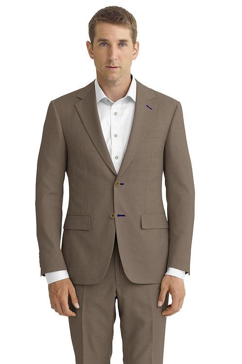Tan Solid Suit
