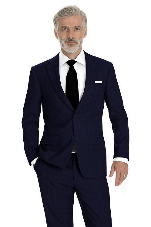 Navy Nailhead Suit