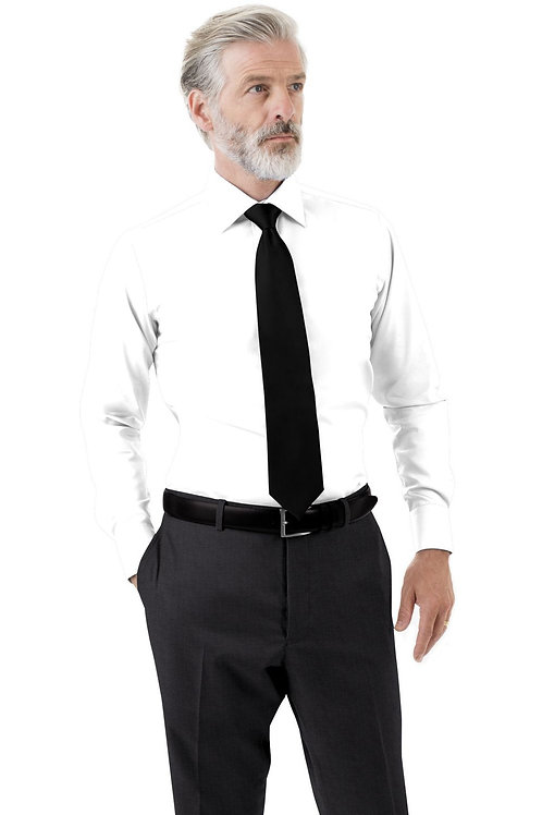 Charcoal Grey Solid Trouser