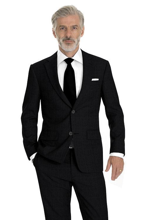 Charcoal Plaid Suit
