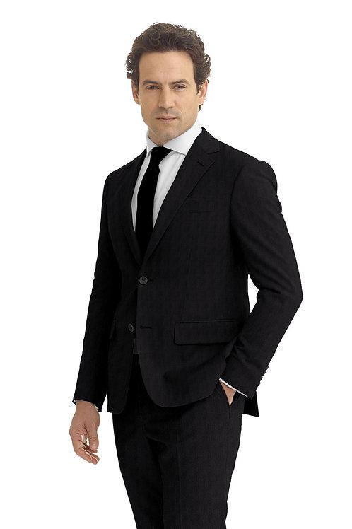 Grey Herringbone Suit