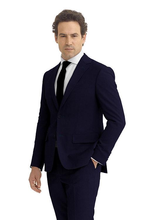 Marine Blue Solid Suit