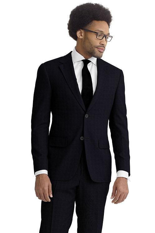 Charcoal Nailhead Suit