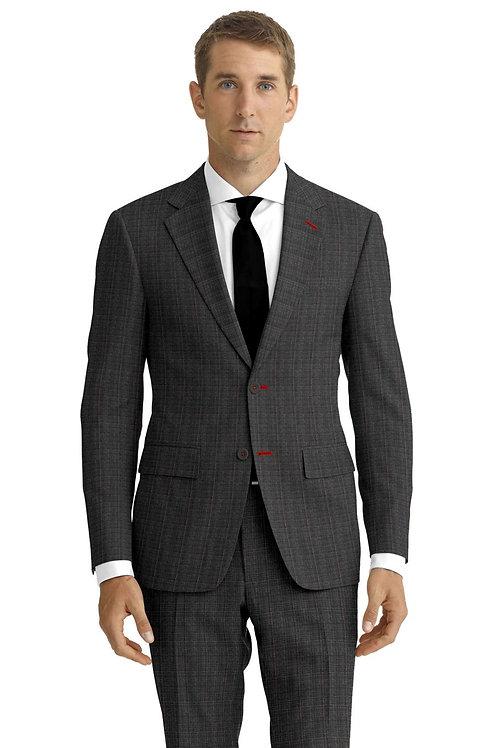 Charcoal Glen Plaid Suit