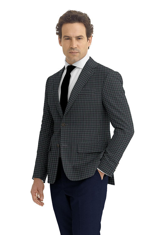 Grey and Purple Check Sport Coat