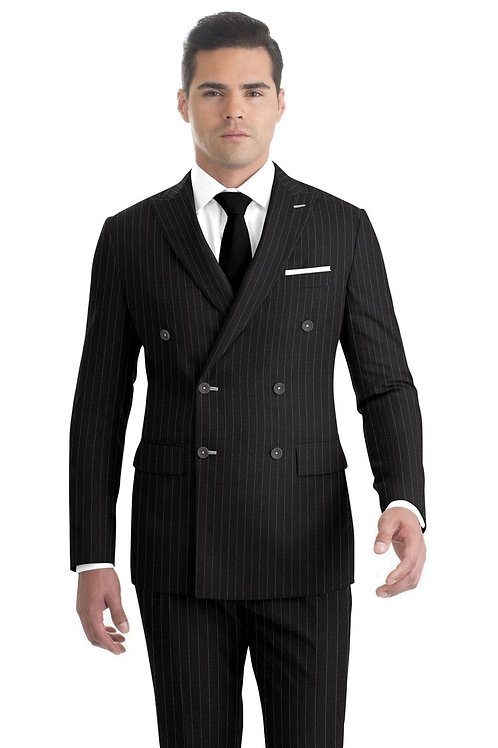 Charcoal Chalstripe Suit