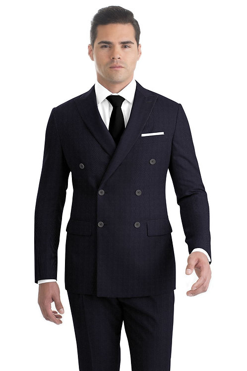 Charcoal Nailhead Suit