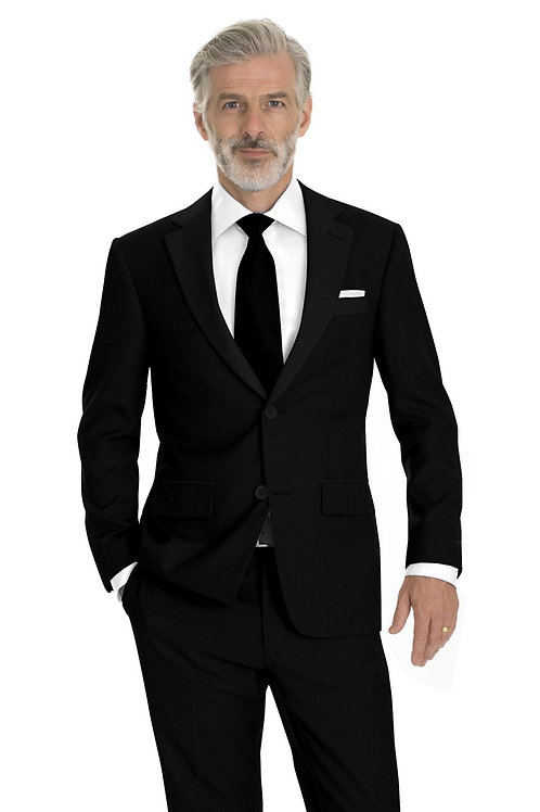 Solid Black Tuxedo