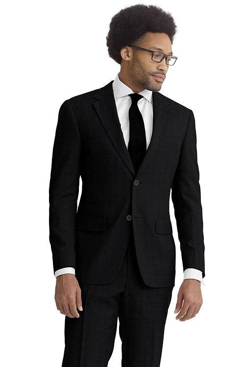 Charcoal Sharskin Suit