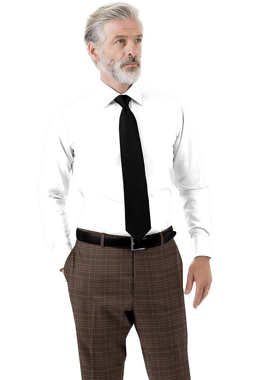 Brick Plaid Trouser