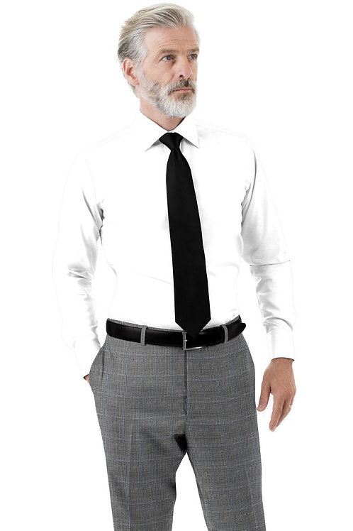 Grey Glenplaid Trouser