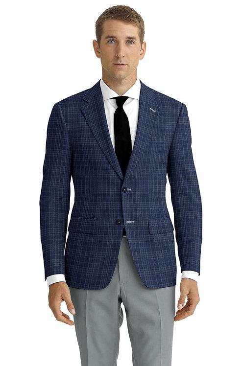 Blue Plaid Sports Coat