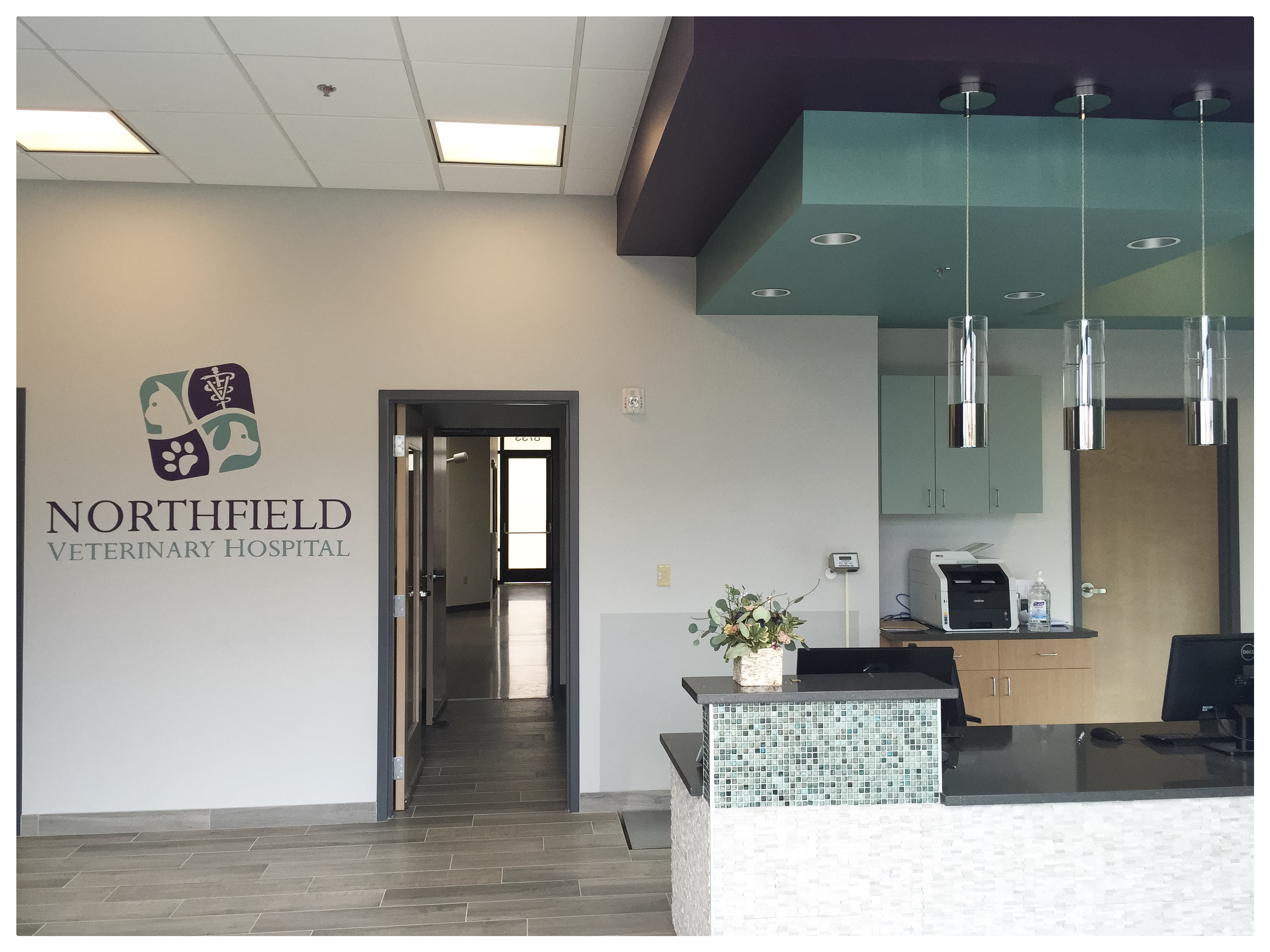 Northfields Veterinary Hospital logo