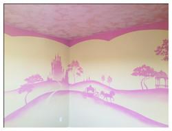 Monochromatic Princess Room