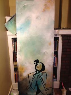 Door painted for Door Wars