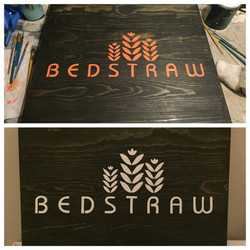 Signs for Bedstraw Textiles