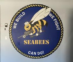 SeaBees logo/mural