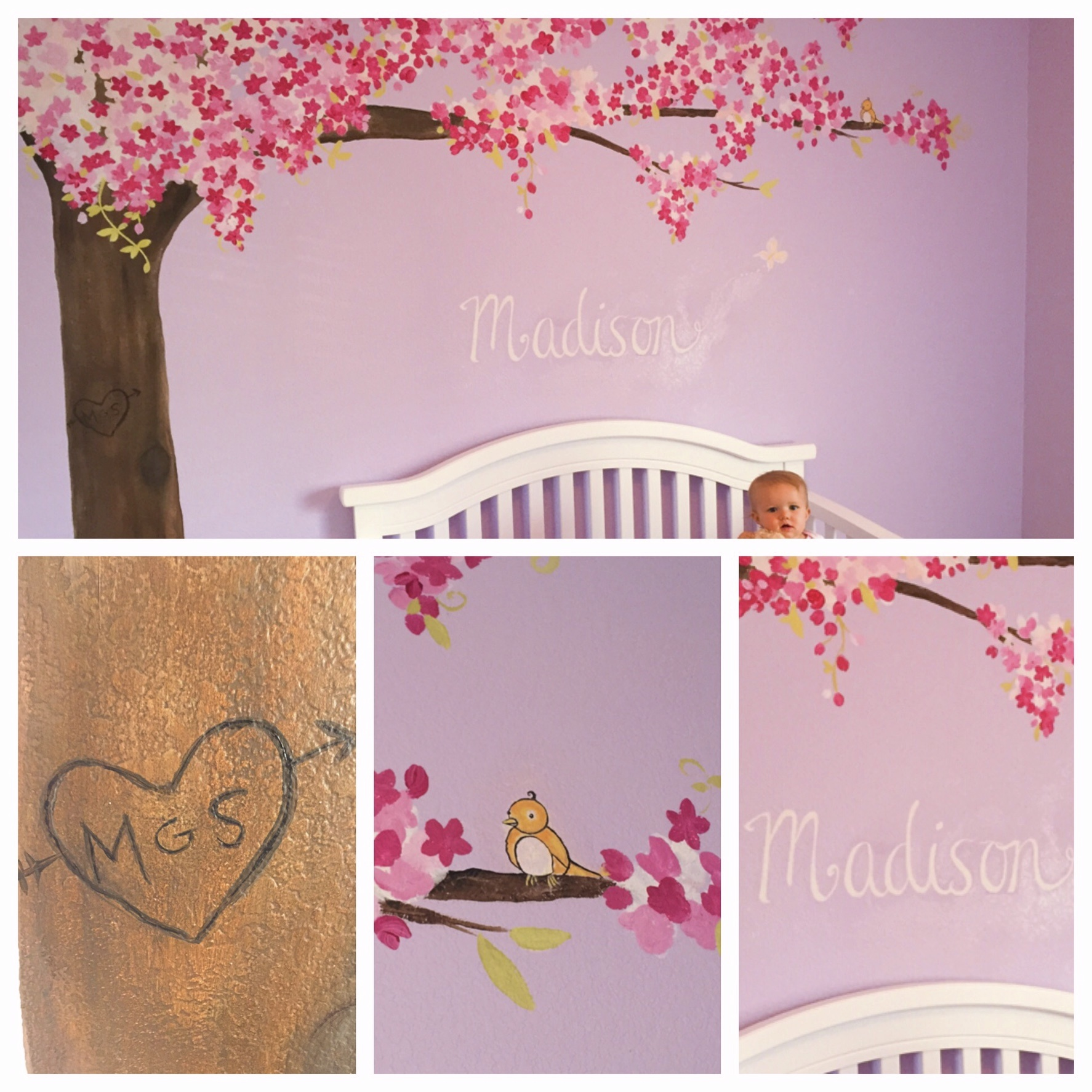 Cute, little Madison's room.