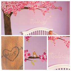 Cute, little Madison's room.