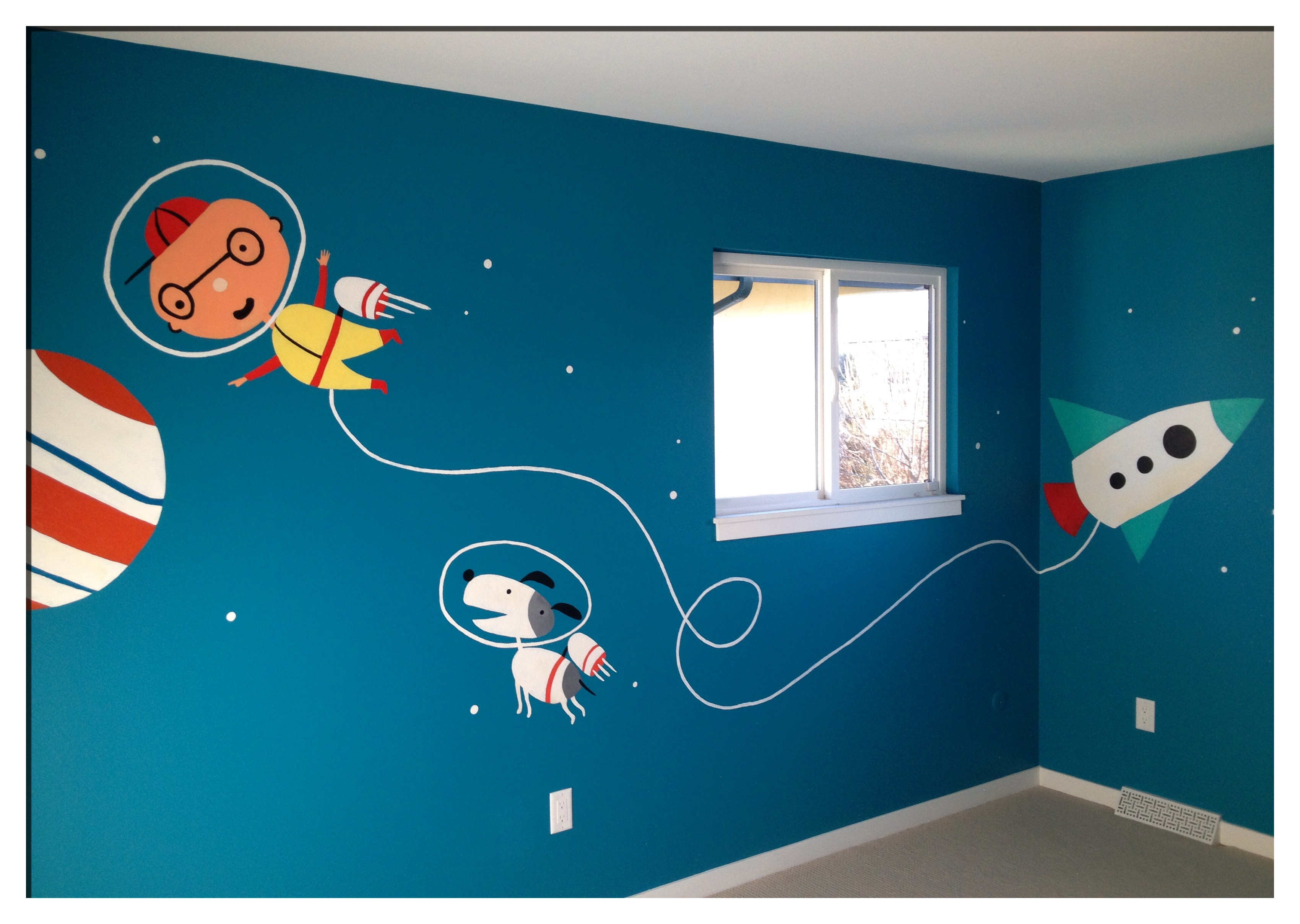 Judah's Space Room!