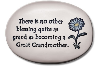 "3.5""x5""x1  ""There is no other blessing quite as....Great Grandmother"""