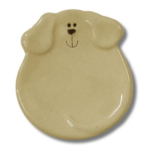 "3"" Mini Dog Dish: Solid Yellow"