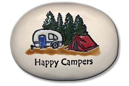"3.5"" x 5"" x 1  ""Happy Campers"""