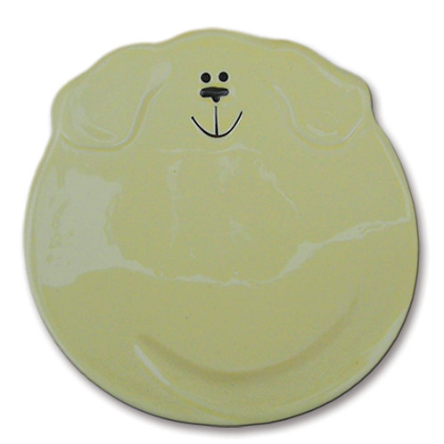 "5"" Dog Dish: Solid Yellow"