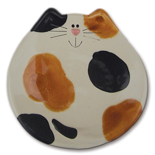 "5"" Cat Dish: Calico"