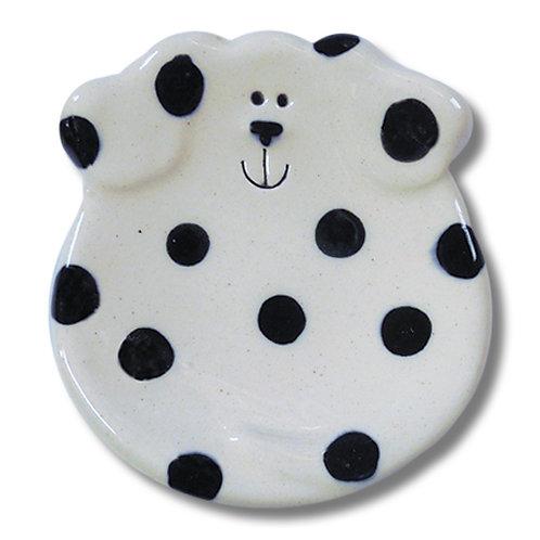 """3"""" Mini Dog Dish: Dalmatian"""